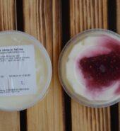 Farmářský jogurt Malina